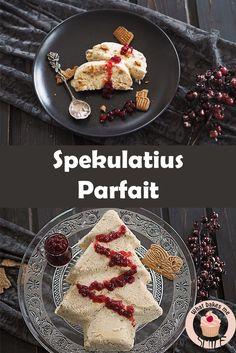Einfaches aber köstliches eiskaltes Dessert, perfekt für Weihnachten: Spekulatius Parfait