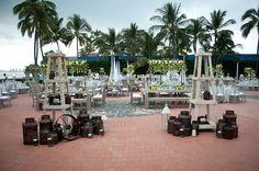 Hermosa área para la recepción #sheraton #bugavilias #Bodas #Romance #Ptovallartra #love #memories