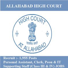 Allahabad HC Admit Card 2017 | 1955 Posts | Class III and IV Jobs | Sarkari Naukri