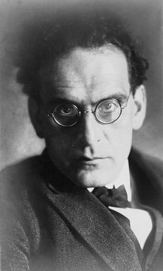 Otto Klemperer (1885 - 1973) German classical conductor, music director of the Philharmonia Orchestra in London for many years, father of Werner Klemperer