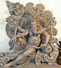 Ganesha Drawing, Lord Ganesha Paintings, Lord Shiva Painting, Clay Ganesha, Ganesha Art, Krishna Art, Durga Ji, Saraswati Goddess, Ganesha Pictures
