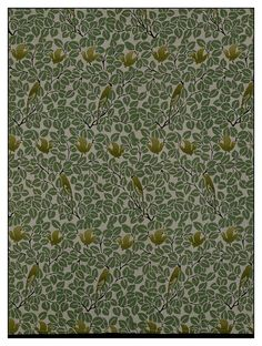 Charles Francis Annesley Voysey, England, Britain (made)      Date:    ca. 1905 (made)      Artist/Maker:    voysey, born 1857 - died 1941 (designer) G. P. and J. Baker Ltd. (manufacturer)      Materials and Techniques:    Roller-printed linen      via