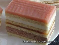 Holland szelet Torte Cake, Hungarian Recipes, Wedding Desserts, Sweet And Salty, Winter Food, Vanilla Cake, Sweet Tooth, Cheesecake, Dessert Recipes