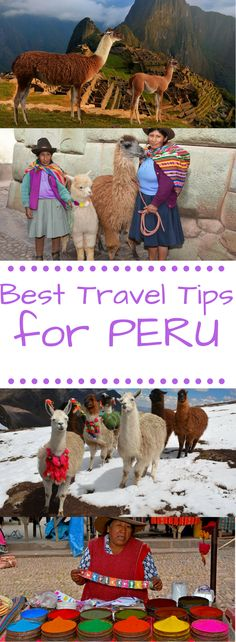 Best Travel Tips for Peru to help you plan your trip!!