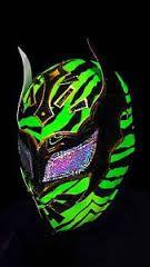 Sin Cara Mask Green and Black