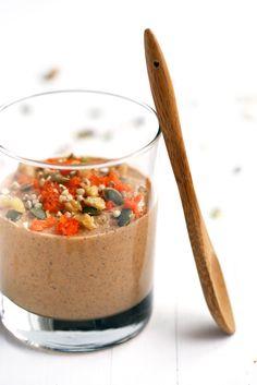 Raw Carrot Cake Buckwheat Porridge   plant-based, gluten-free, grain-free