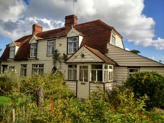 Country cottage: Essex timber framed, weatherboard cottage, 18th century near Maldon. Essex.