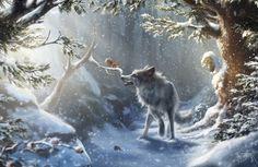 ArtStation - A Winter Tale, Marie Beschorner