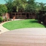 http://www.landscaping.ie Garden design and decking in a landscaping design. Garden designed by Kevin Baumann of landscaping.ie.