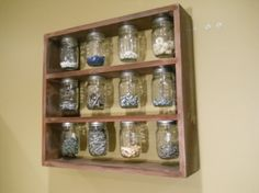 mason jar organizer by angelita