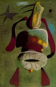 Surreal Art: joan miró art ~Via Jen Fraser Spanish Painters, Spanish Artists, Kandinsky, Joan Miro Paintings, Hieronymus Bosch, Arte Pop, Magritte, Pablo Picasso, Picasso Collage