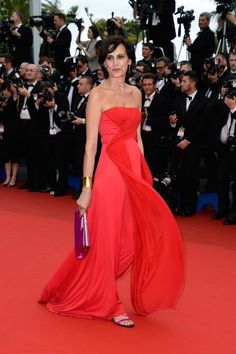 Ines de la Fressange looked just about perfect.