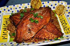 GOBLUEBBQ: Smoked catfish