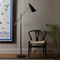 I have taken a long time trying to find the perfect floor lamp. I may have just found it.  brass Mo floor lamp. Pooky.