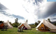 Luxury Camping Tents in Virgina | Luxury Bell Tents VA