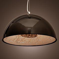 $209.62 Modern Pendant Light in Black Lampshade - lightinthebox.com
