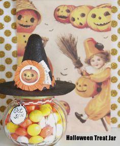 LAST MINUTE: Halloween Treat Jar