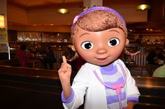Walt Disney World, Hollywood and Vine, Character Meal, Doc McStuffins!!!