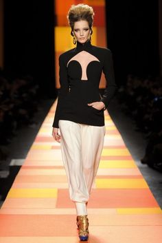 Jean Paul Gaultier Spring/Summer 2013 Couture Collection | British Vogue