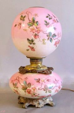 Antique Hurricane Lamp from the 1930s