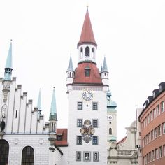 I went to Munich during the holiday season a couple years ago. Let's just say this city sure took me by surprise! The colorful rooftops and architecture of the buildings were so beautiful! I can't wait to go back and explore more of this city.
