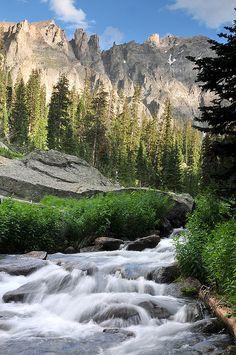 Indian Creek, Colorado.