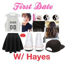 """First Date with Hayes Grier"" by jayla-horan-c on Polyvore"