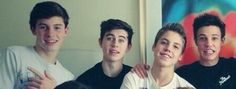 OMG my favorite boys all together!!<3, Shawn, Nash, Matt and Cameron