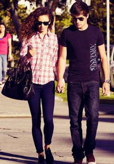 Danielle Peazer and Liam Payne