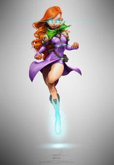 4b27fb3a5a10 Alfonso Pardo Martínez - Sci-Fi Velma Scooby Doo