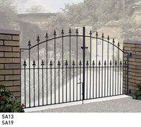 Saxon Metal Driveway Gates - Metal Gates Direct
