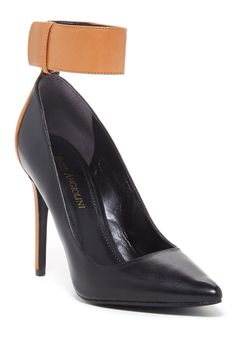 Fastir Ankle Cuff Pump by Enzo Angiolini on @nordstrom_rack