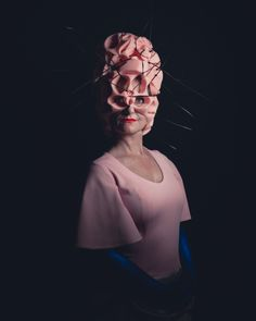 Guest: Atelier Gonny Stuut / Photo by Damien Frost / Amsterdam Spook: The Surrealist Ball Rothschild Party, Banksy, Maya, Frost, Fashion Art, Amsterdam, Costumes, Pink, Photography