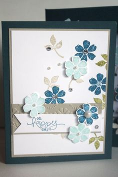 SAB Thank You by katherinerock - Cards and Paper Crafts at Splitcoaststampers