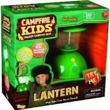 Campfire Kids Lantern , Light Flashlight Nature Sounds Childs Camping Adventure