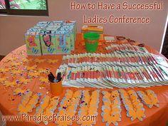 How to Have a Successful Ladies Conf. www.ParadisePraises.com