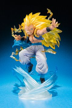 BANDAI - Dragon Ball Gotenks Super Saiyan 3 Figuarts Zero TamashiWeb Exclusive Figure Packshot