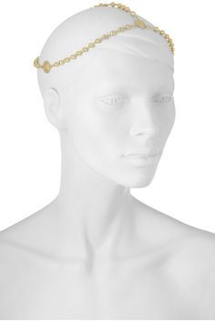 ANGELIC!  Pamela Love | Gold-plated headpiece