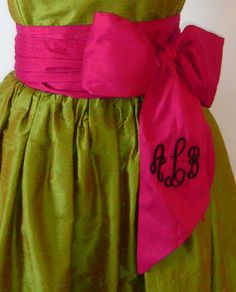 LaRoque- not the colors but i love the dress and monogram