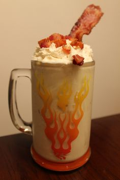 bacon maple milkshake