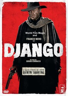 Django (1966)  A coffin-dragging gunslinger enters a town caught between two feuding factions, the KKK and a gang of Mexican Bandits. That man is Django, and he is caught up in a struggle against both parties.  Director: Sergio Corbucci Writers: Sergio Corbucci (story), Bruno Corbucci (story),  Stars: Franco Nero, José Canalejas, José Bódalo   http://www.exhibeflix.com/#!untitled/c4br