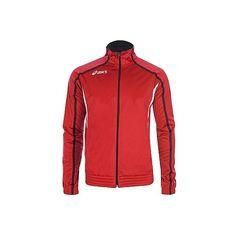 Melegítő felső Asics Jacket Honest piros,fehér unisex M Wind Jacket, Jackets For Women, Clothes For Women, 2 In, Hibiscus, Asics, Outdoor Gear, Adidas Jacket, Beautiful Women