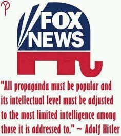 """Fox """"News"""" and millions fell for fake Facebook """"news"""" dump facebook already."""