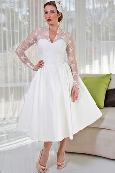 Dolly Couture, short wedding dress