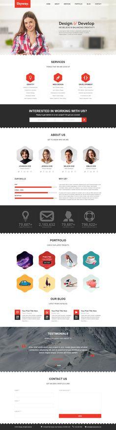clean web design