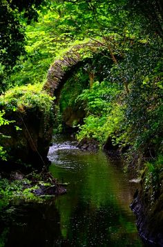 Cromwell's Bridge in Kenmare, Ireland.by ~Tingil Beautiful World, Beautiful Places, Enchanted, Seen, Beautiful Landscapes, Places To See, Countryside, Scenery, Castle