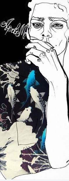 watercolor by Sara Ligari