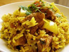 Kemencés rizses csirke