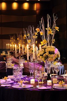 The Westin Beijing Chaoyang—Wedding Table Setting by Westin Hotels and Resorts, via Flickr