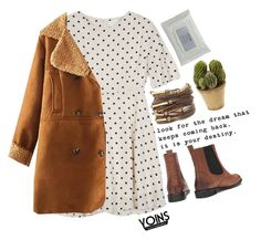"""#Yoins"" by credentovideos ❤ liked on Polyvore featuring Nearly Natural and Stila"